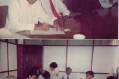 Signing GCEC agreement with GRID Pakistan