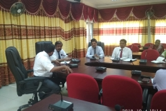 Training and Meeting with higher officials on Teacher HRM system