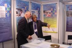 With Dr. Wolfgang Von Rudin, Director IT, CERN