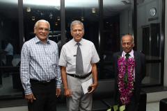 Prof. J.B. Dissanayake, Mr. Lakshman Hettiarachchi and Prof. KKYW Perera
