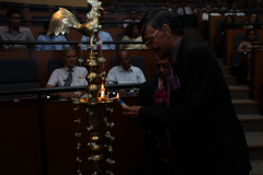Lighting oil lamp - Prof. Mohan Munasinghe