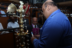 Lighting oil lamp - Mr. Harsha Wijayawardhana