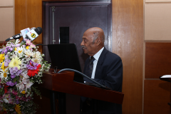 Address by the Chief Guest, Prof KKYW Perera
