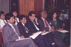 Joint Working Group on Legal Issues held under the 15th ASEB - Mr. Jayantha Fernando, Mr. Kolitha Dharmawardena, Mr. Nalin Abeyesekera - Legal Draftsman, Prof. VK Samaranayake