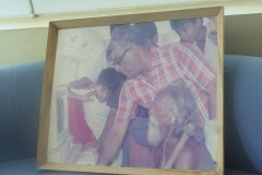 Prof. Samaranayake with Veddah Chief late Tisahamy Aththo