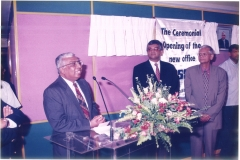 Dr. RB Ekanayake, Mr. Lal Chandranath, Prof. GL Peris