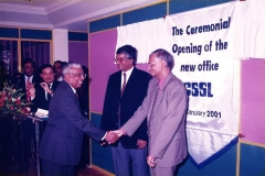 Mr. RB Ekanayake, Mr. Lal Chandranath, Prof. GL Peiris