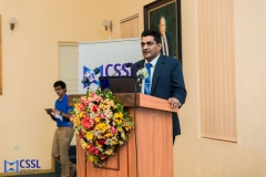 At the launch of CSSL Code of Ethics and Code of Conduct - Yasas Vishuddhi Abeywickrama