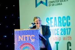SEARCC President Dr. Nick Tate
