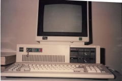 First Computer IBM Compatible Computer sold by JRL