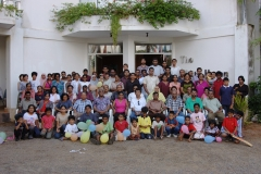 At the farewell party organized by the Welfare Society of the UCSC in May 2004 at White Haven Resort, Wadduwa